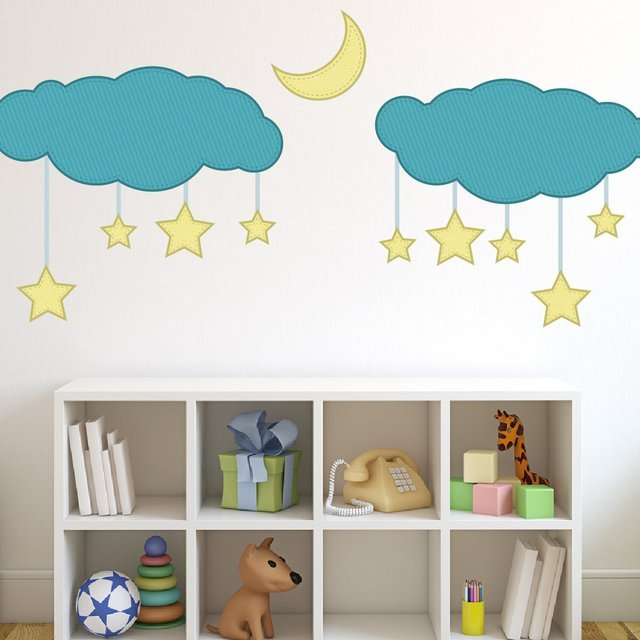 Dreamy Stars Nursery Wall Decal