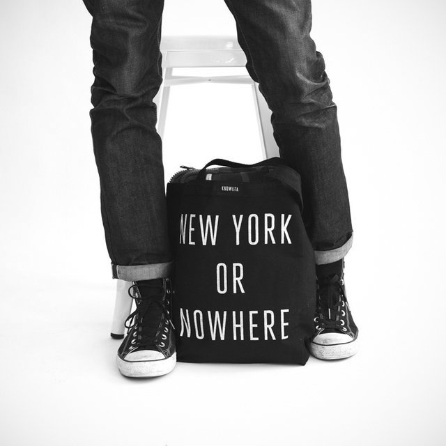 New York or Nowhere Tote Bag