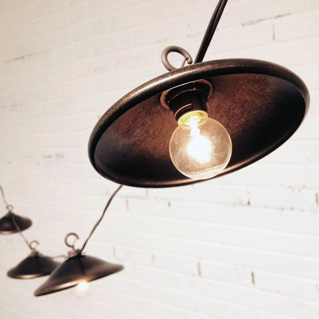 Bronze Shade Cafe String Lights