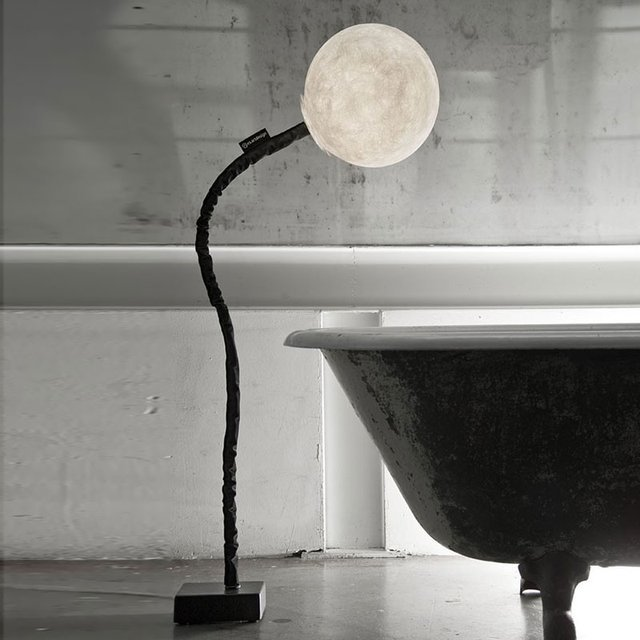 Micro Luna Floor Lamp