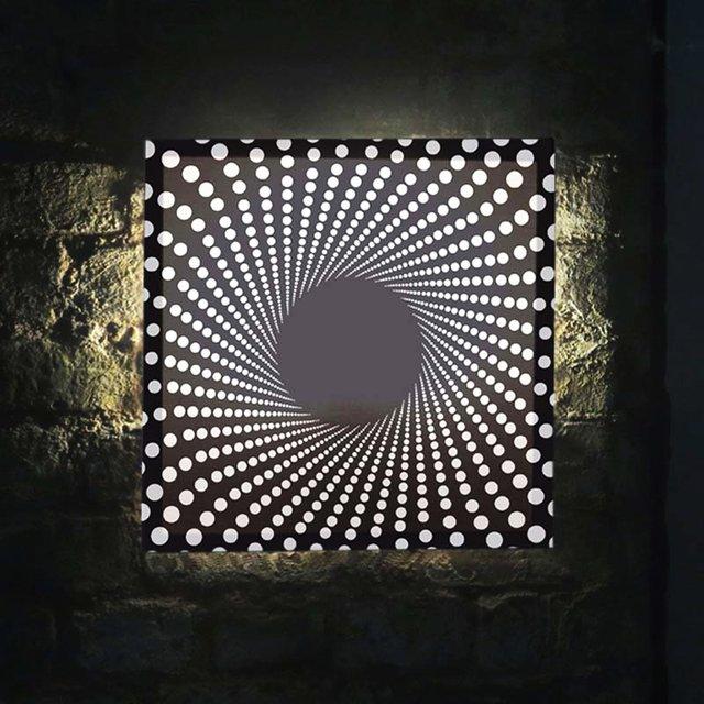 Dots Spiral Mini Glo-Canvas