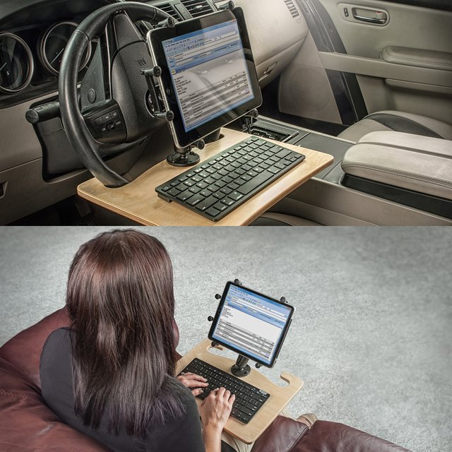 AutoExec WheelMate Elite Steering Wheel Desk