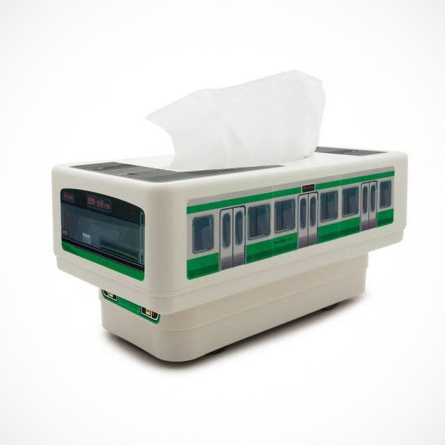 RC Tissue Box Train