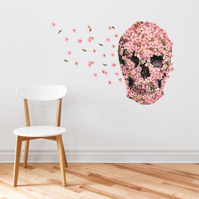 A Beautiful Death Wall Decal