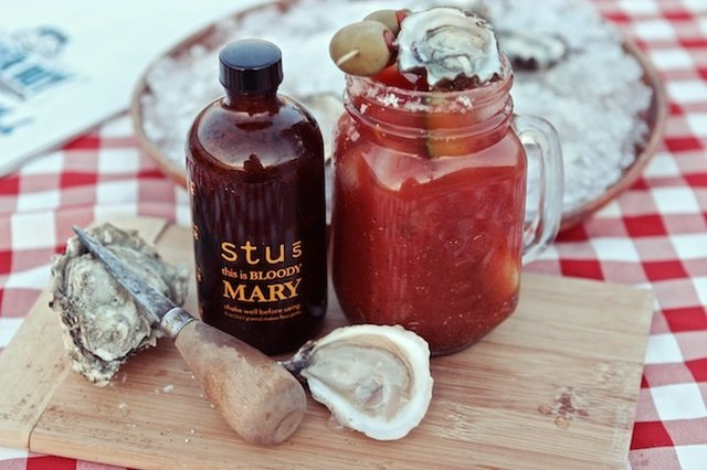 Stu's Sour Bloody Mary Mix