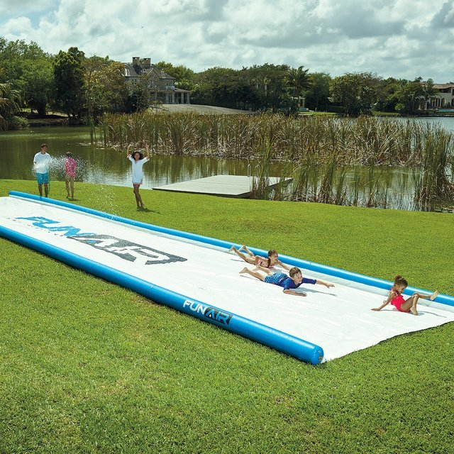 Giant 50′ Slip and Slide