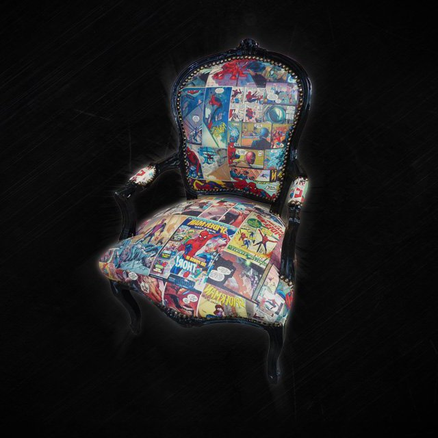 Spider-Man Comic Chair