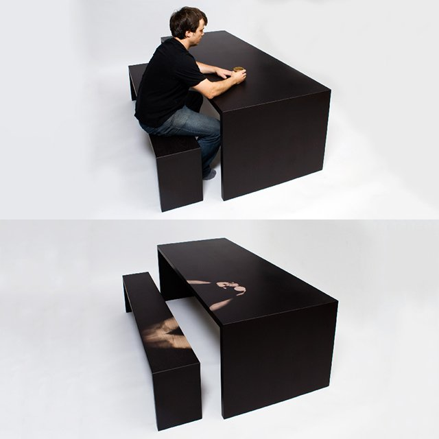Thermochromatic Furniture by Jay Watson