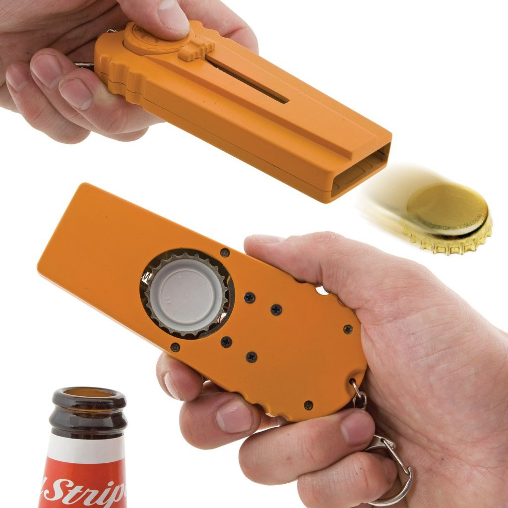 Cap Launcher Bottle Opener
