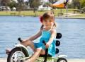 Mobo Mini Luxury Three-Wheeled Cruiser Bike