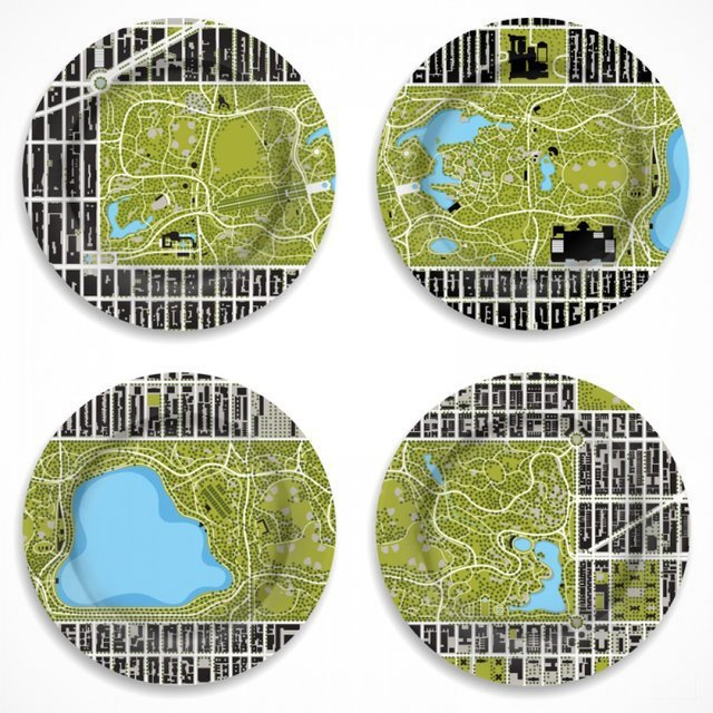 Central Park Plates by notNeutral