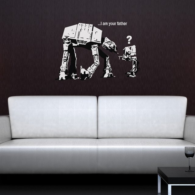 I Am Your Father Banksy Wall Sticker