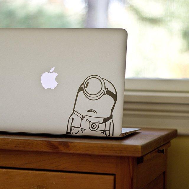 Minions MacBook Decal