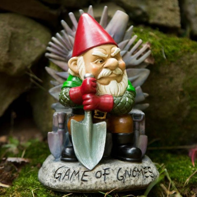 Game of Gnomes Garden Gnome