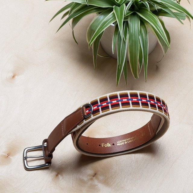 Ecru Hall Belt by Folk