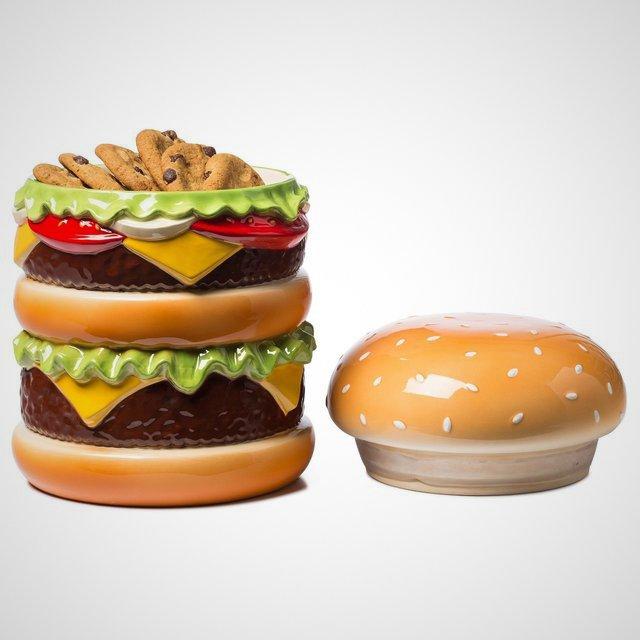 The Cheeseburger Cookie Jar