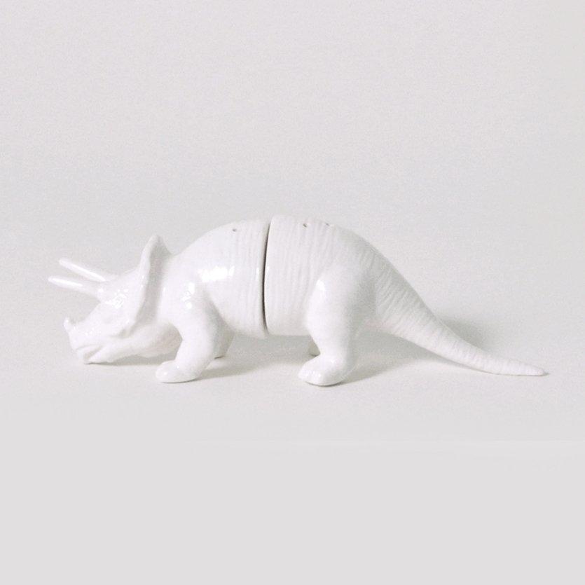 Dinosaur Tribe Triceratops Salt & Pepper Shakers