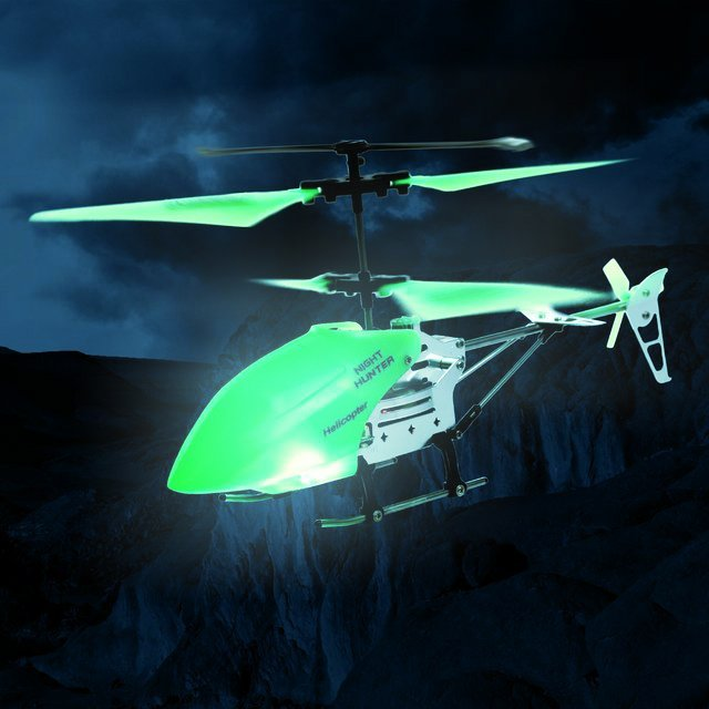 Night Hunter Glow in the Dark Helicopter