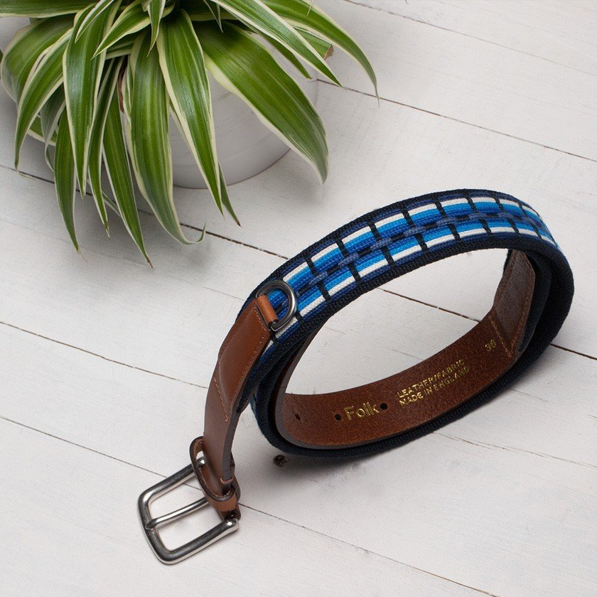 Blue Hall Belt by Folk