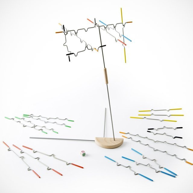 Suspend Abstract Jenga Game