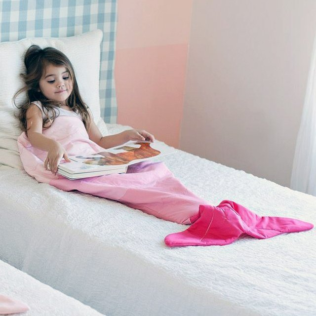Mermaid Tail Blanket Bag