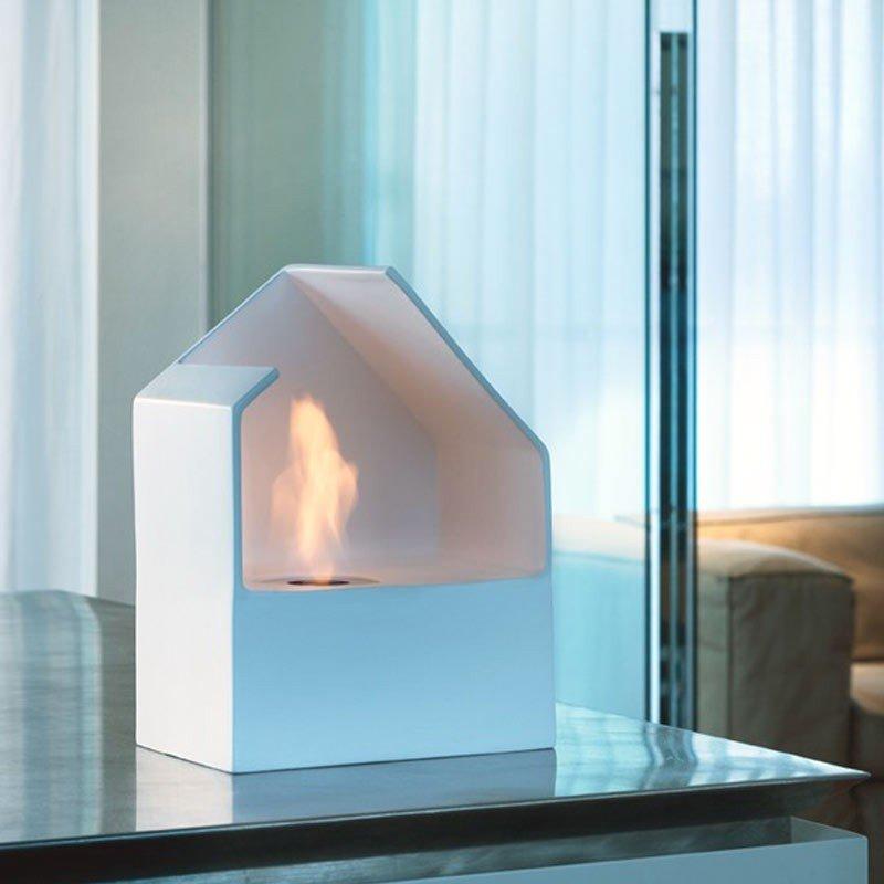 Homu Ceramic Bio-Fireplace by Acquaefuoco