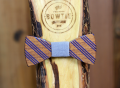 Percy Painted Wood Bow Tie by Two Guys Bow Ties