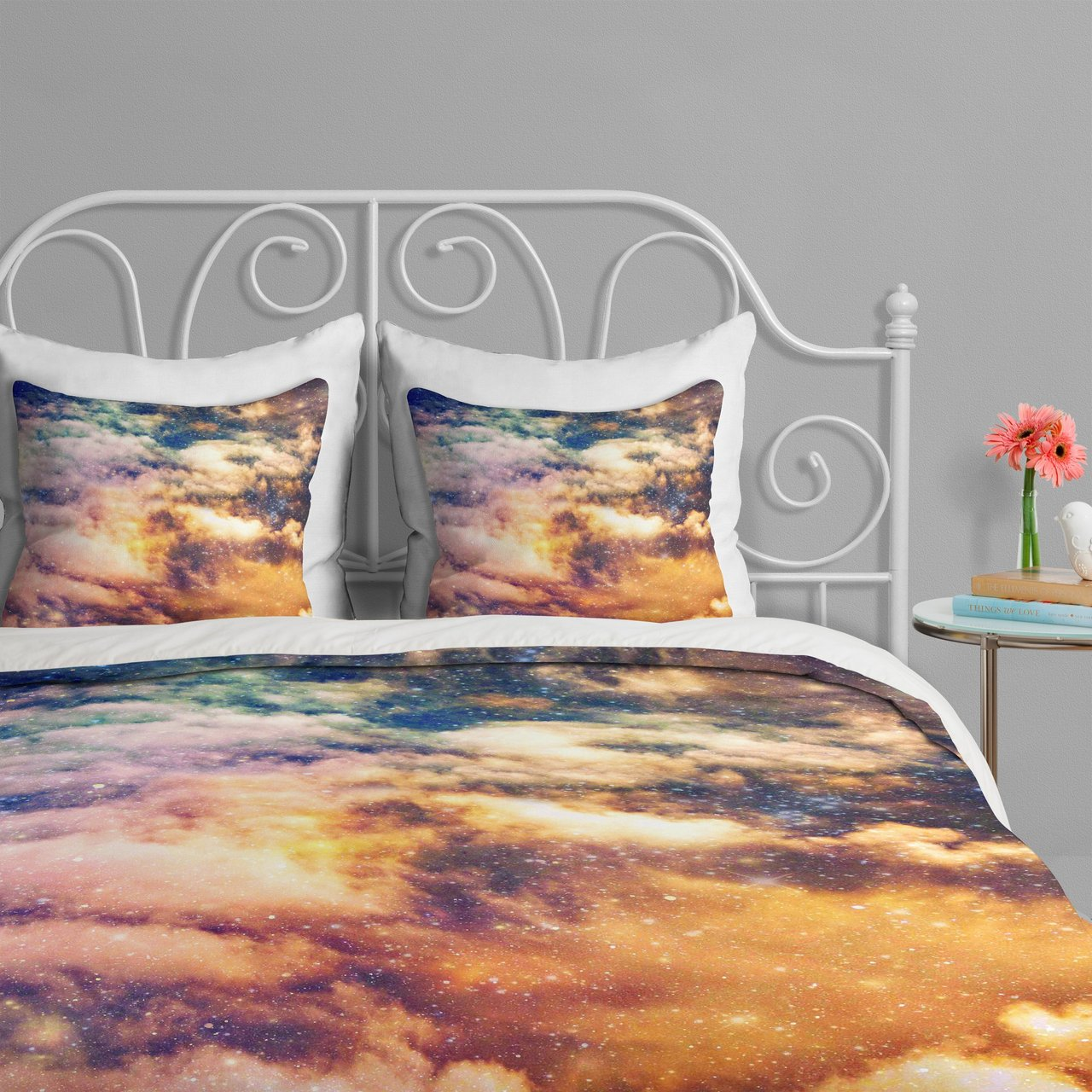 Cosmic Duvet Cover by Shannon Clark