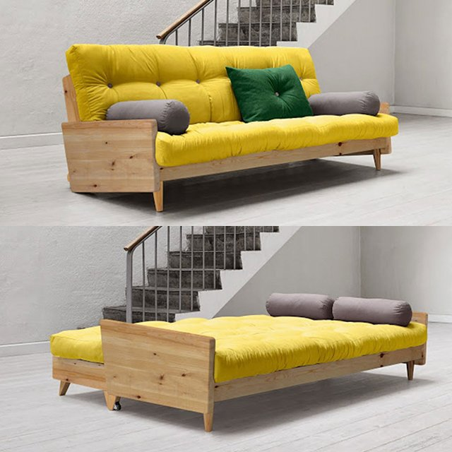 Indie sofa bed by karup petagadget for Precios de sofas baratos