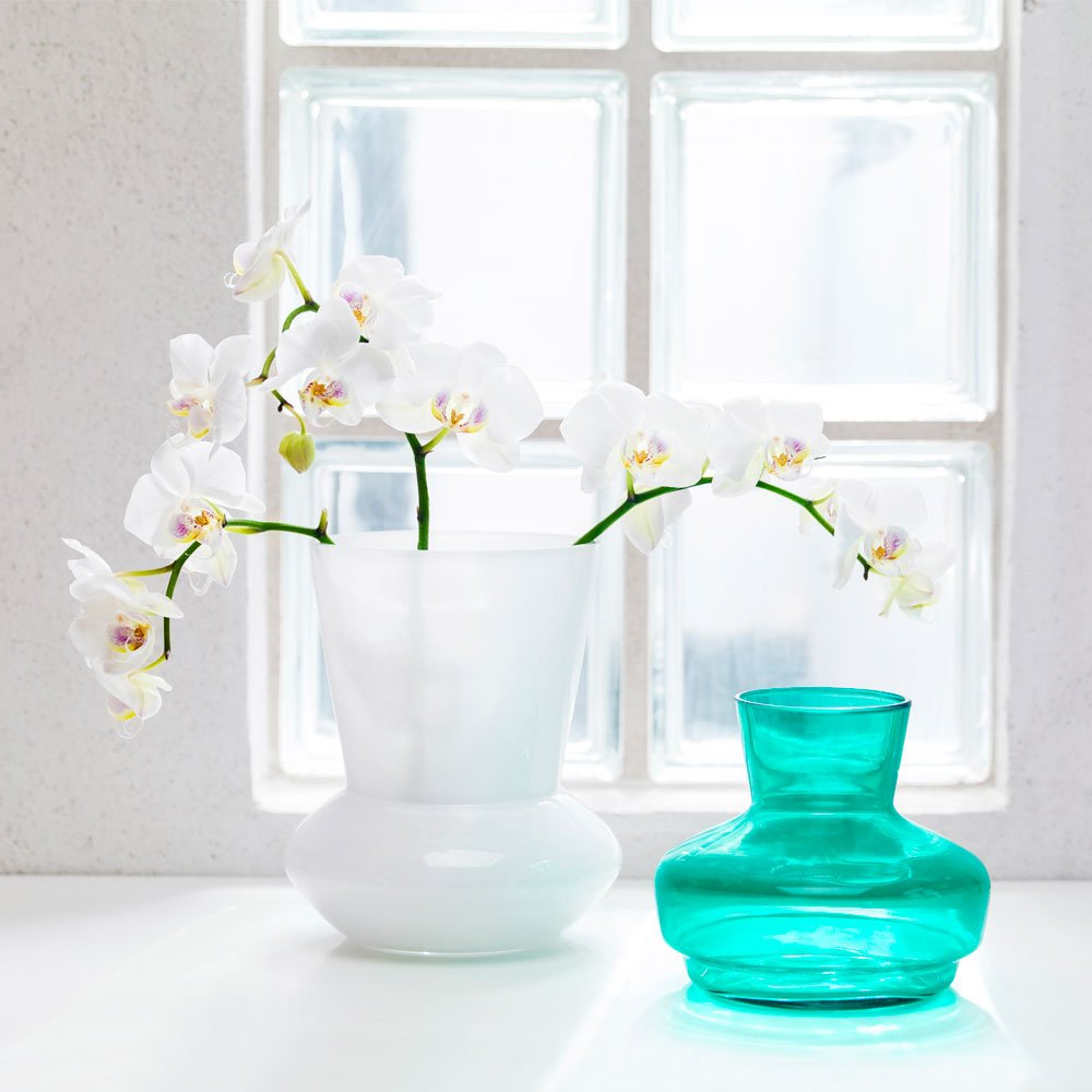 Duo Glass Vase by Sagaform