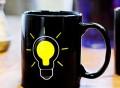 Heat Sensitive Light Bulb Mug