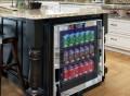 Vinotemp Mirrored Touch Screen Beverage Cooler