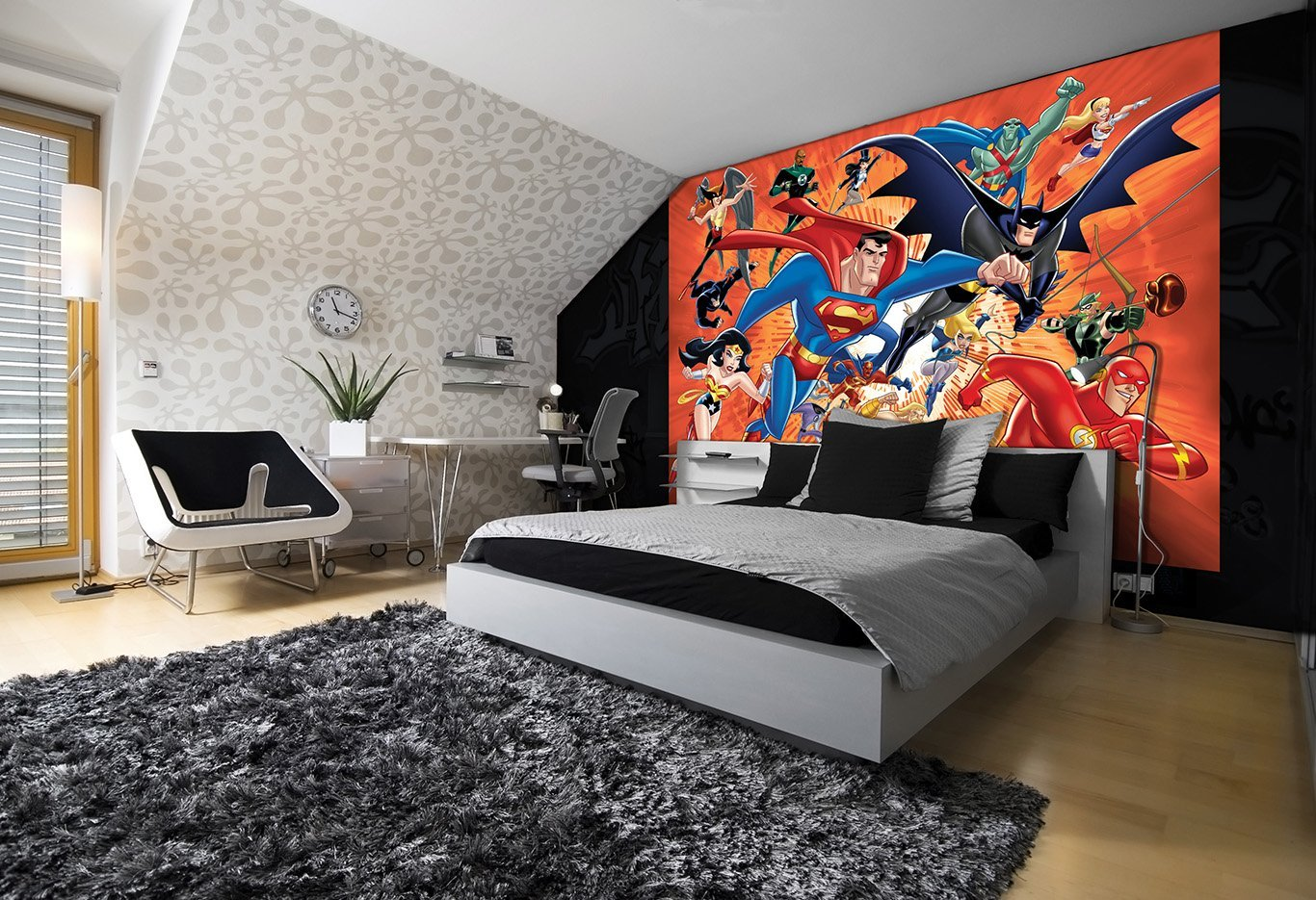 DC Comics Wallpaper Mural