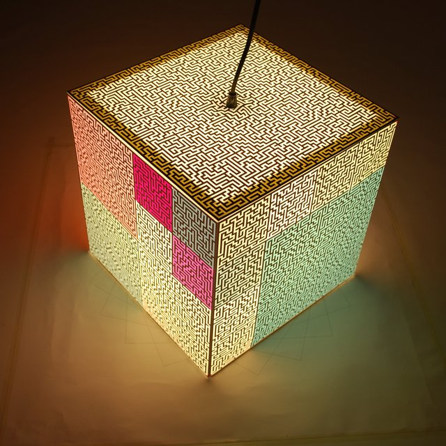 Your Only Way Light Cube by UNIQCUBE