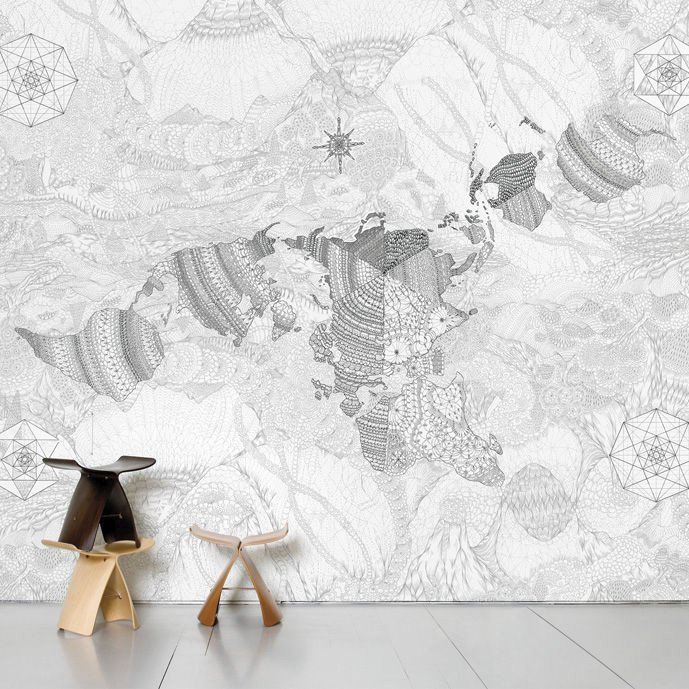 Wholearth Scenic Wallpaper by Domestic