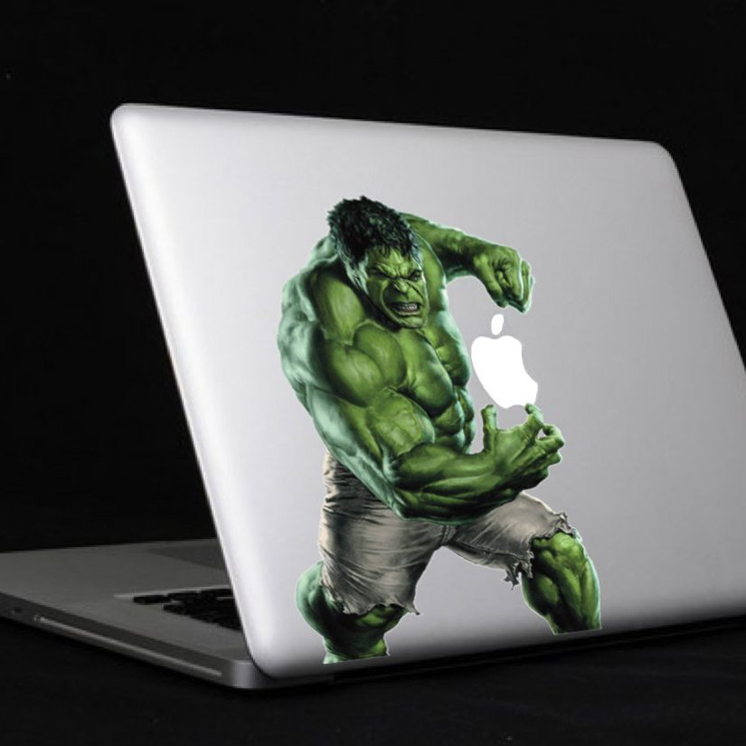 The Incredible Hulk MacBook Decal