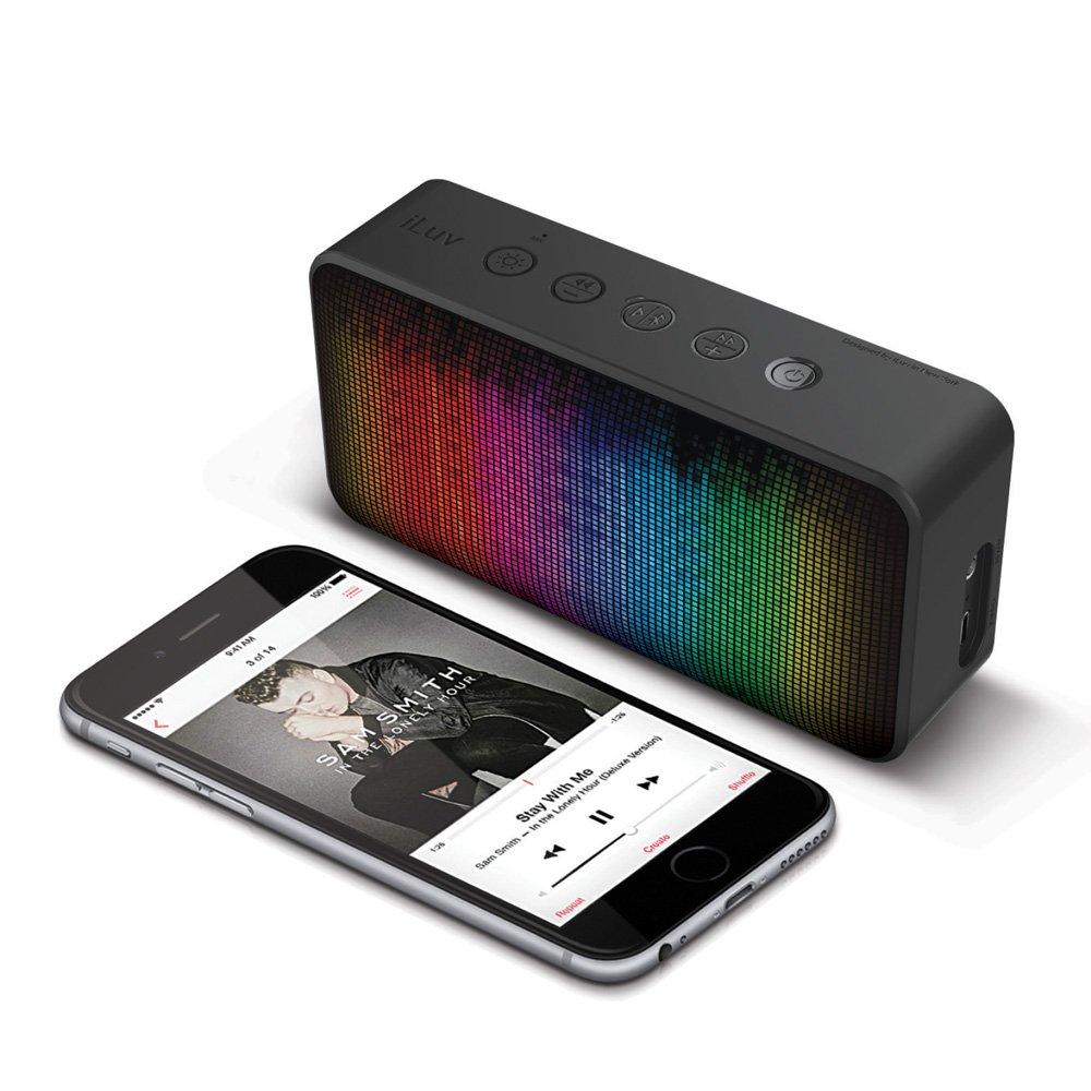 Aud Mini 6 LED Bluetooth Speaker by iLuv