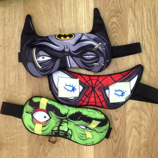 Heroes Never Sleep Masks