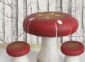 Toadstool Table & Stools
