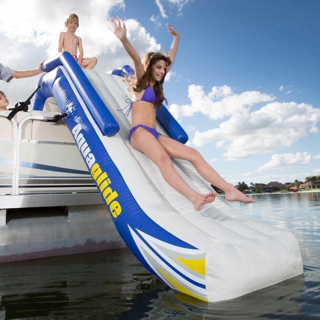 Freefall Pontoon Slide