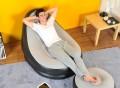 Inflatable Air Chair & Ottoman