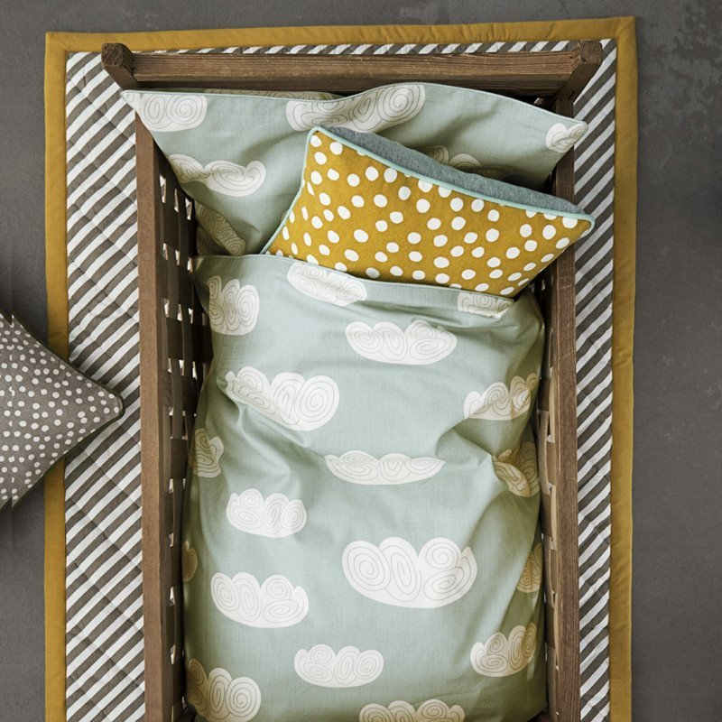 Mint Baby Cloud Bedding by Ferm Living