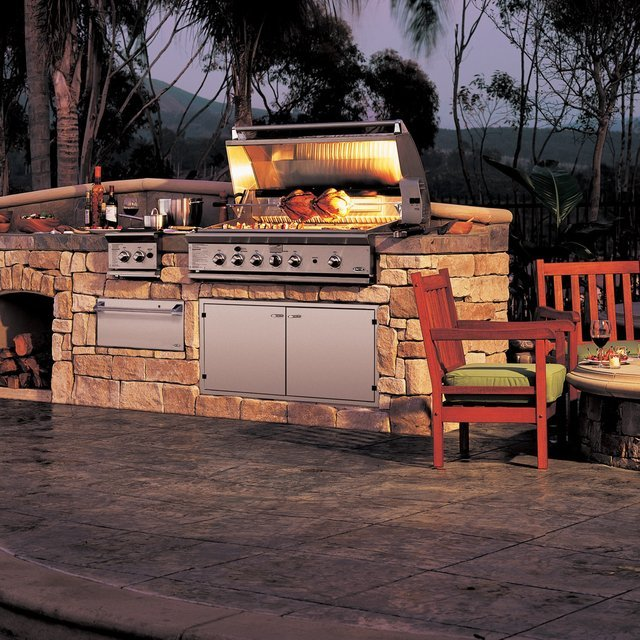 Stainless Steel Gas Grill & Rotisserie by DCS