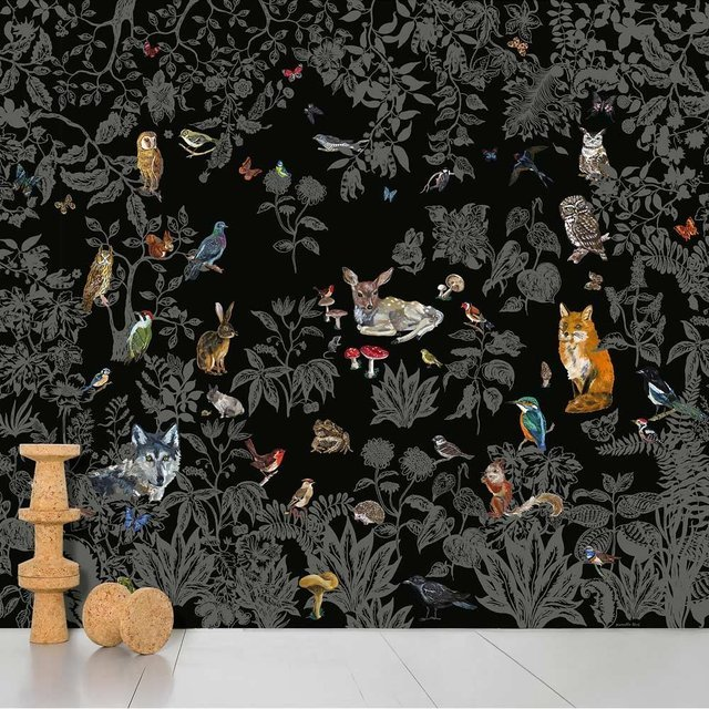 Foret Noire Wallpaper by Nathalie