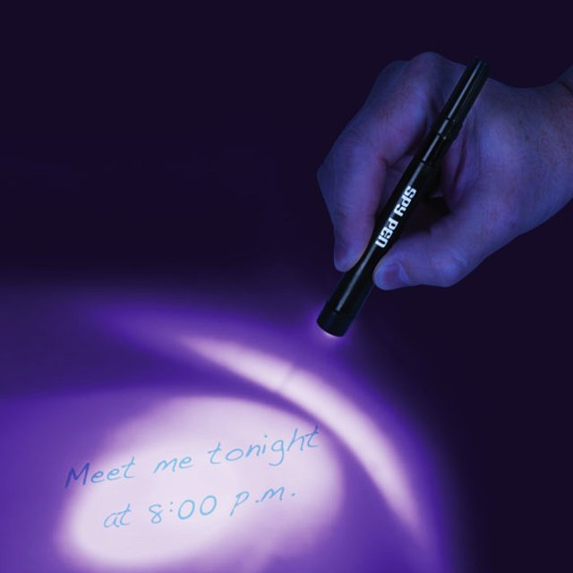 Ultraviolet Spy Pen