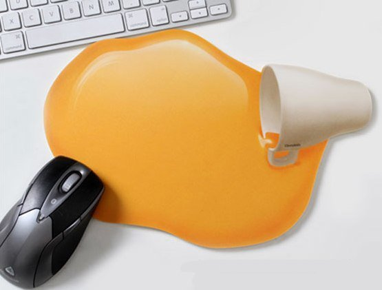 Orange Juice Mouse Pad