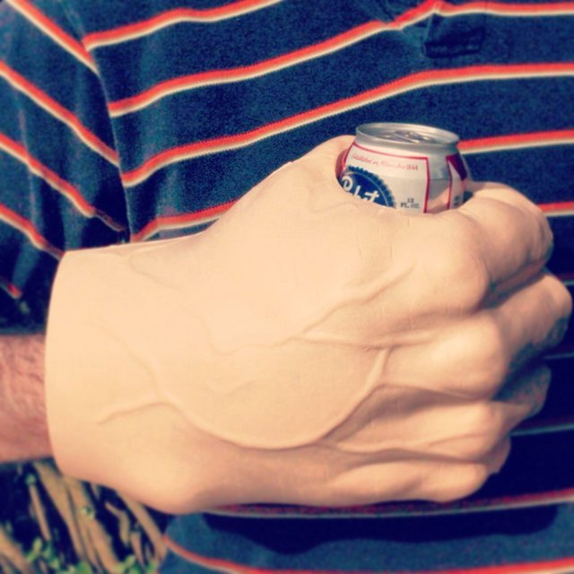Giant Fist Can Koozie