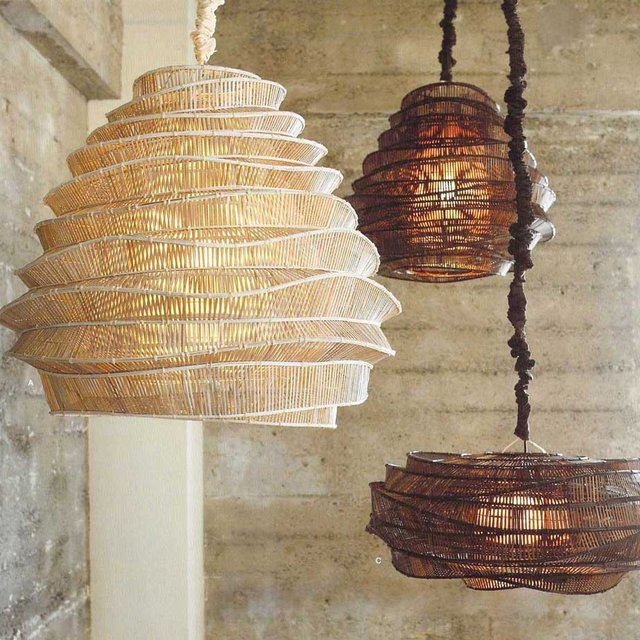 Bamboo Cloud Chandeliers by Forma Living
