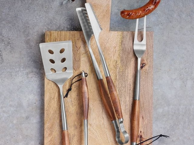 Lockwood BBQ Tool Set by Schmidt Brothers