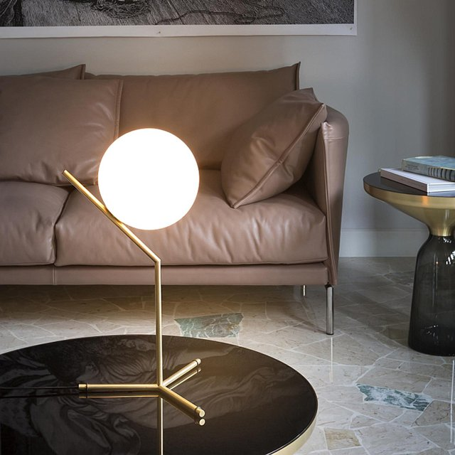 IC T1 Tall Table Lamp by Flos